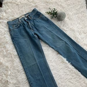 Vintage Gap Boy Fit Ankle Jeans